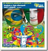 Molti  giovani calabresi della GMG saranno presenti a Rio De Janeiro