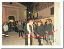 Taglio del nastro della nuovo Archivio Storico Diocesano e della Biblioteca Diocesana a Rossano